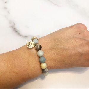 Kinsley Armelle Blue Solar Eternity bracelet